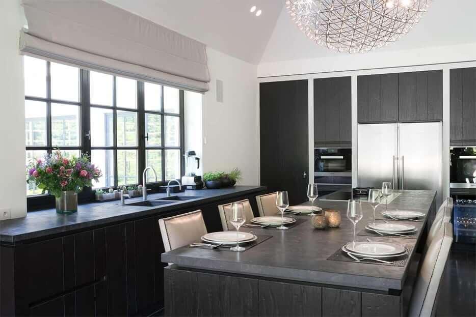 Houten keuken overschilderen