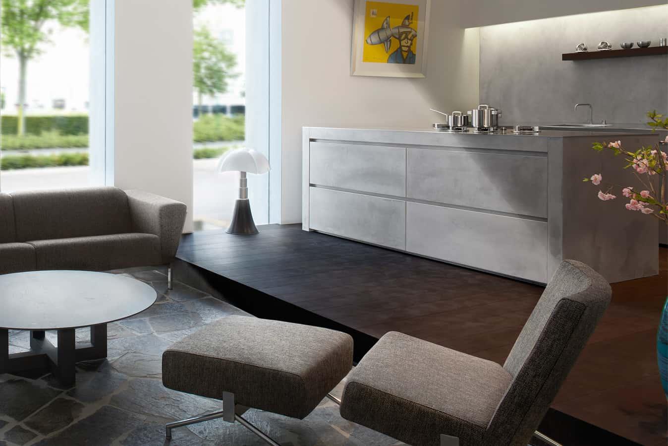 Moderne keuken beton