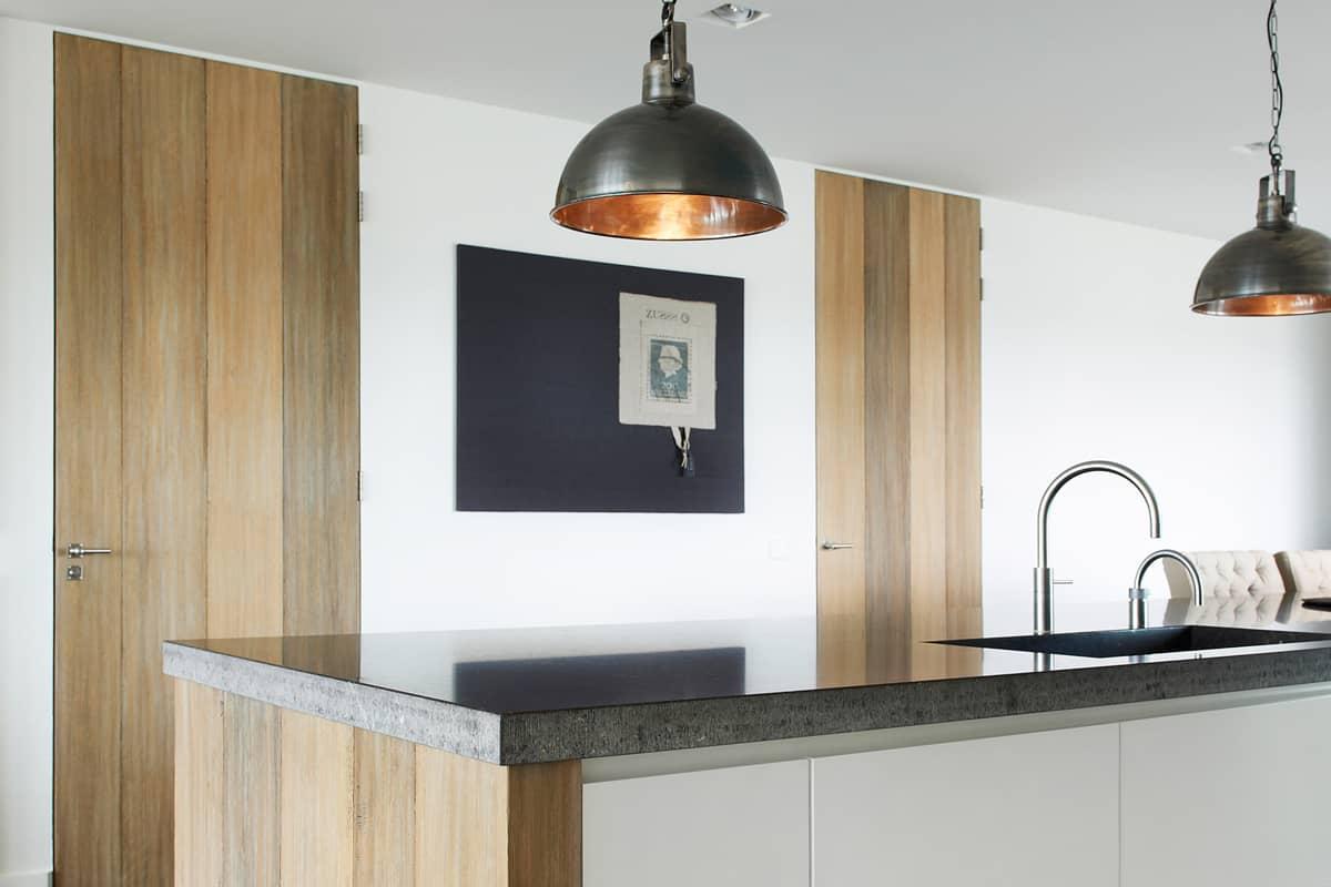 Steigerhout keuken deuren