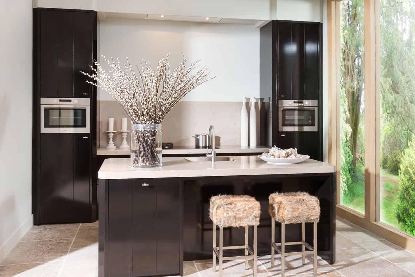 Zwarte Tinello keuken
